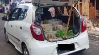 Kumpulan Potret Mobil Penumpang yang Dipakai untuk Jualan (Brilio.net)