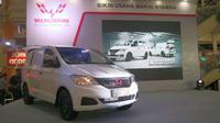 Wuling meluncurkan mobil komersil yang disebut Formo di Indonesia dengan harga mulai Rp 135,8 juta on the road Jakarta. (Herdi Muhardi)