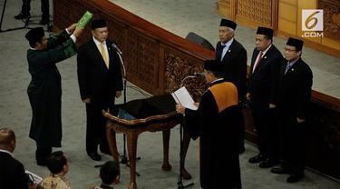 Bambang Soesatyo ditetapkan menjadi Ketua DPR Ri menggantikan Setya Novanto.