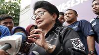 Menteri Kesehatan RI Nila Moeloek mengatakan, kiriman 2 ton makanan tambahan untuk ibu hamil gempa Palu dan Donggala segera dilakukan. (Biro Komunikasi dan Pelayanan Masyarakat, Kementerian Kesehatan R)