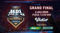 Grand Final MPL Invitational 4 Nation Cup