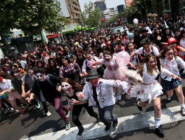 Zombie Walk di Chile