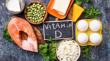 Ilustrasi vitamin D (Foto:Shutterstock)