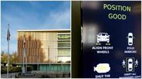 Gedung parkir berteknologi ini memungkinkan penghematan ruang sehingga tersedia lebih banyak ruang untuk keperluan lain.