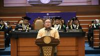 Menristek Bambang Brodjonegoro hadiri Dies Natalis ke-59 di Universitas Airlangga. (Foto: Liputan6.com/Dian Kurniawan)