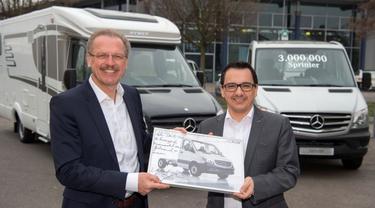 Lebih dari 3 Juta Unit Mercedes Sprinter Lahir Dalam 20 Tahun