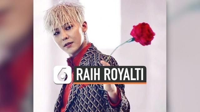 G-Dragon salah satu anggota dari Big Bang, saat ini masih menjalani wajib militer. Meski begitu, hasil karyanya masih bisa dinikmati. Dan menurut data survei TMI News Mnet, GD masih mendapatkan keuntungan royalti dari karya-karyanya tersebut.