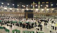 Jemaah calon haji mulai memadati Masjidil Haram. (Maulana Kautsar/dream.co.id)