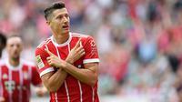 2. Robert Lewandowski  (Polandia) - Bayern Munchen. (AFP/Patrik Stollarz)