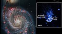 Peristiwa ledakan lubang hitam raksasa yang disebut mirip kegiatan bersendawa (sumber: ibtimes.com)