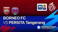 BRI Liga 1 : Persita Tangerang vs Borneo FC