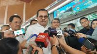 Jaksa Agung HM Prasetyo meminta agar kasus penusukan Menkopolhukam Wiranto diusut tuntas. (Liputan6/Yopi Makdori)