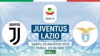 Serie A 2018-2019 Juventus Vs Lazio (Bola.com/Adreanus Titus)