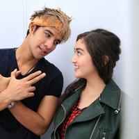 Bintang muda yang sering menjadi perbincangan, Ammar Zoni dan Ranty Maria. Dalam sinetron terbarunya, Anak Langit, pasangan ini juga menjalin kasih. (Adrian Putra/Bintang.com)