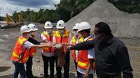 Peluncuran tailing sebagai material pembangunan infrastruktur di Papua