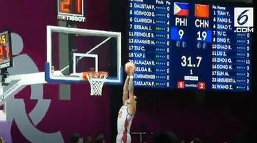 Aroma liga bola basket paling bergengsi sejagad, NBA, menyeruak dalam laga lanjutan penyisihan Grup D bola basket putra Asian Games 2018 antara Filipina melawan China (21/08/2018). Hal itu tidak lepas dari kehadiran tiga orang pemain yang aktif di NB...