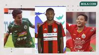Trivia jersey paling kece di Liga 1 2020: Persipura, PSS, Persela. (Bola.com/Dody Iryawan)