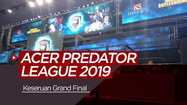 Berita video vlog bola.com tentang keseruan grand final PUBG Asia Pacific Predator League 2019 di Bangkok, Thailand.