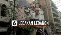 Ledakan besar yang mengguncang Ibukota Lebanon, Beirut menewaskan sedikitnya 10 orang. Serta menghancurkan jendela, merobohkan pintu dan mengguncang bangunan yang terletak beberapa ratus kaki jauhnya dari lokasi ledakan. Pada, Selasa, 4 Agustus 2020.
