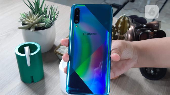 Galaxy A50s (Liputan6.com/ Agustin Setyo W)