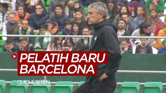 Berita video Barcelona menunjuk Quique Setien setelah memecat Ernesto Valverde pada Senin (13/1/2020).