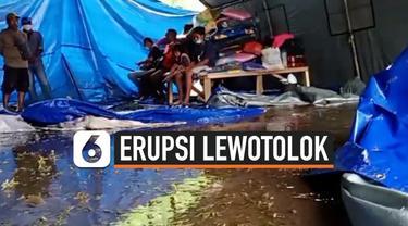 thumbnail pos pengungsi banjir