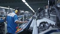 Proses produksi tekstil di PT Trisula Textile Industries Tbk (BELL) (Dok: PT Trisula Textile Industries Tbk)