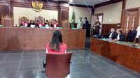 Jessica Kumala Wongso menjalani sidang perdana di PN Jakarta Pusat. (Liputan6.com/Audrey Santoso)