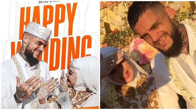 Sah Jadi Suami Istri, Ini Momen Pernikahan Diego Michiels dan Dhea Ananda