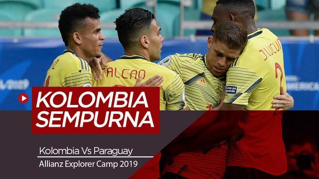 Berita Video Highlights Copa America 2019, Kolombia Lolos Perempat Final dengan Poin Sempurna