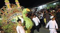 Suasana arakan sahur saat Ramadan di Kota Kualatungkal, ibu kota Kabupaten Tanjabbar, Jambi. (Dok. Istimewa/B Santoso)