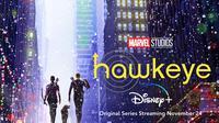 Poster serial Hawkeye. (Marvel Studios / Disney)