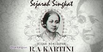 Sejarah Singkat Kisah Kehidupan R.A Kartini