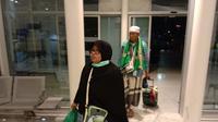 Sebanyak 16 kelompok terbang (kloter) dari sejumlah embarkasi diterbangkan melalui Bandara Prince Mohammad Bin Abdul Aziz Madinah
