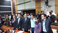 Komisi I DPR menyetujui Hadi Tjahjanto sebagai Panglima TNI (Liputan6.com/ Anendya Niervana)