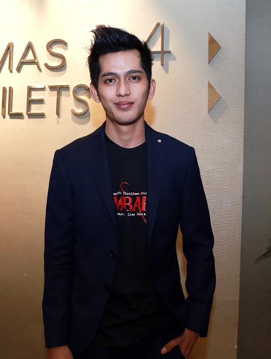 Ilyas Bachtiar memerankan Jagad dalam film Kembar 5. Dalam film thriller ini ia berkesempatan untuk beradu akting dengan Yuki Kato, dan diakuinya hal tersebut merupakan pengalaman tersendiri bagi Ilyas Bachtiar. (Wimbarsana/Bintang.com)