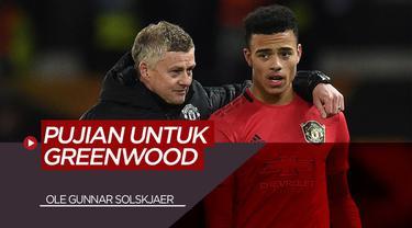 Berita Video Pujian Ole Gunnar Solskjaer Usai Mason Greenwood Tampil Brilian Bersama Manchester United