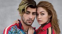 Gigi Hadid dan Zayn Malik kembali jalani pemotretan dengan Vogue di tahun 2017. (dok. Instagram @Vogue)