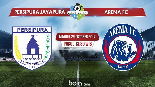 Liga Persipura Jayapura Vs Arema Fc