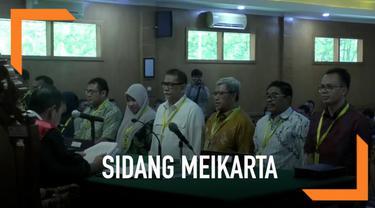 Mantan Gubernur Jawa Barat Ahmad Heryawan datang sebagai saksi suap Meikarta.