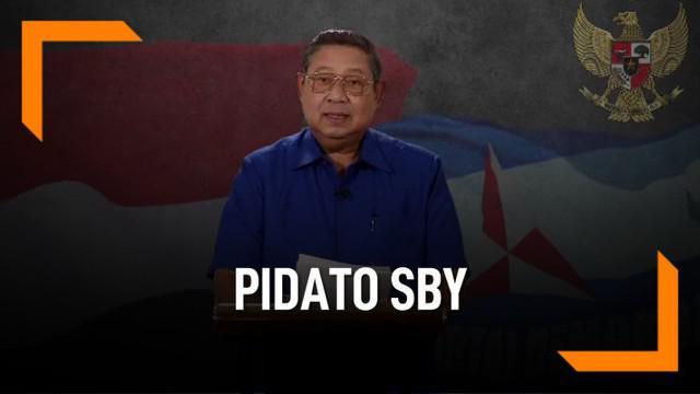 Ketua Umum Partai Demokrat Susilo Bambang Yudhoyono (SBY) akhirnya menanggapi hasil rekapitulasi final yang dirilis Komisi Pemilihan Umum (KPU) pada Selasa 21 Mei 2019. Sesuai dengan hasil Pilpres 2019, SBY mengucapkan selamat kepada pasangan Jokowi-...