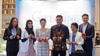 Soft launching rangkaian produk skincare dan makeup Giffarine di kawasan Kebayoran Baru, Jakarta Selatan. (Liputan6.com/Asnida Riani)