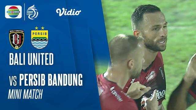 Berita video mini match BRI Liga 1 2021/2022, Bali United vs Persib Bandung, di mana Beckham Putra mencetak 2 gol dan Yabes Roni menorehkan gol tak terduga, Sabtu (18/9/2021) malam hari WIB.
