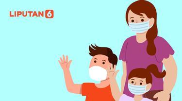 Banner Infografis 5 Tips Ajarkan Anak Pakai Masker Cegah Covid-19. (Liputan6.com/Niman)