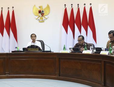 Jokowi Pimpin Rapat Terbatas Percepatan Peta Jalan Penerapan Industri 4.0