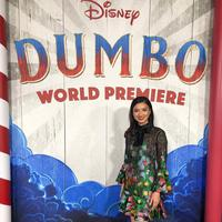 Raline Shah di World Premiere film Dumbo (Disney Indonesia)