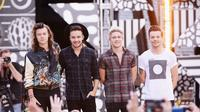One Direction (AFP/STEPHEN LOVEKIN/GETTY IMAGES NORTH AMERICA)