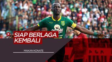 Berita Video Makan Konate Dukung New Normal untuk Liga 1 Indonesia