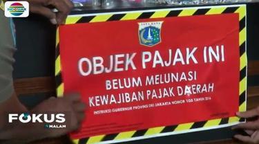 Selain 22 restoran, petugas juga mendatangi sebuah pabrik di Jalan Raya Bekasi, Cakung.