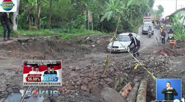 Sedikitnya 110 kepala keluarga atau 354 jiwa serta 90 rumah menjadi korban bencana ini.